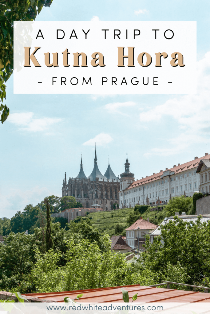 Pin for Pinterest of exploring Kutna Hora.