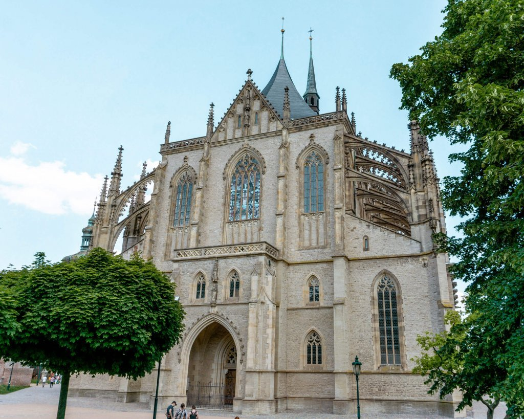 The Church of Assumption in Kutna Hora.