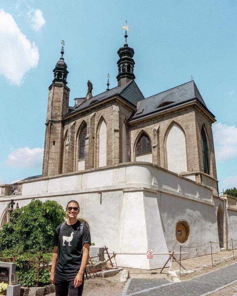 The famous bone church in Kutna Hora.