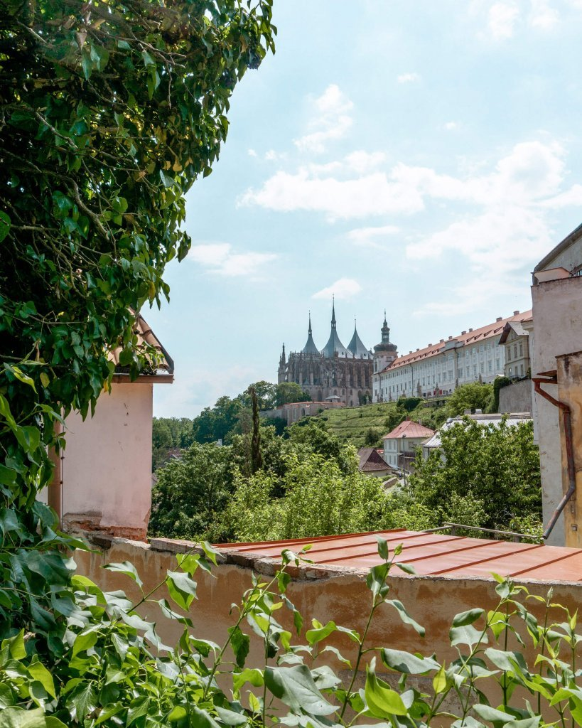 Famous St Barabara's Cathedral in Kutna Hora.