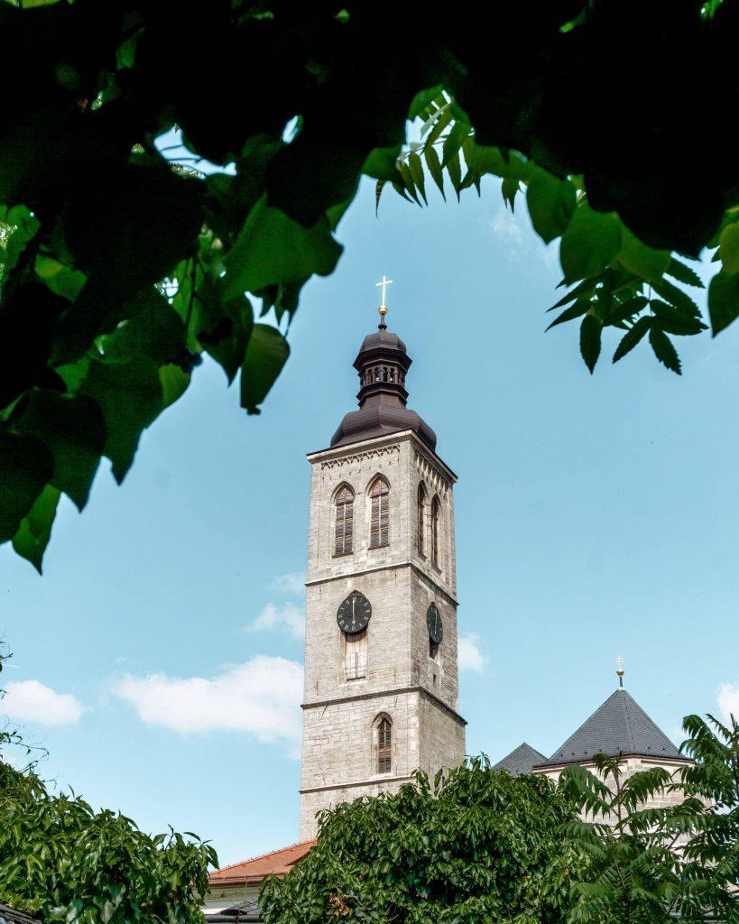 Beautiful Church in Kutna Hora.