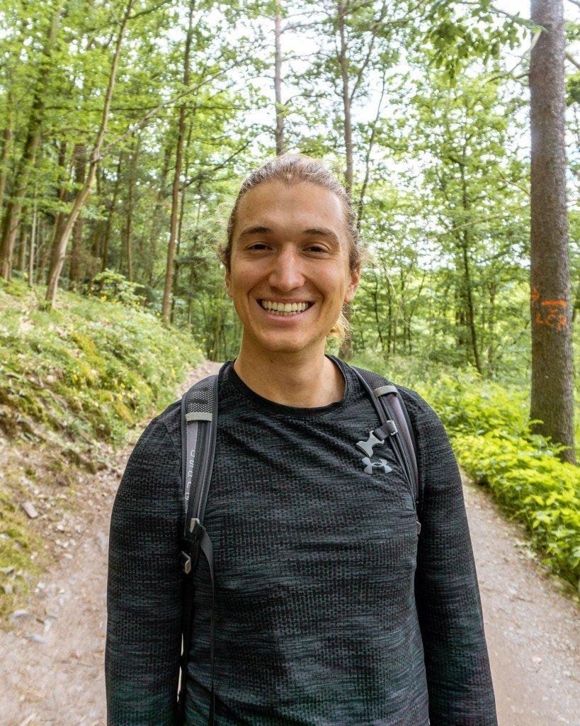 Dom hiking in the Czech Republic.