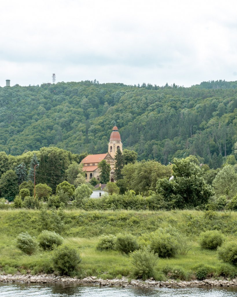 Small Church in the Czech countryside.
